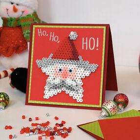 Santa Star Card