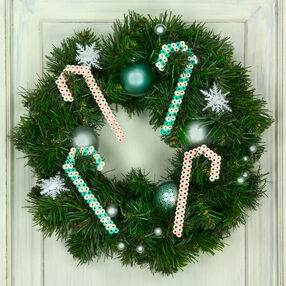 Glittered Candy Canes
