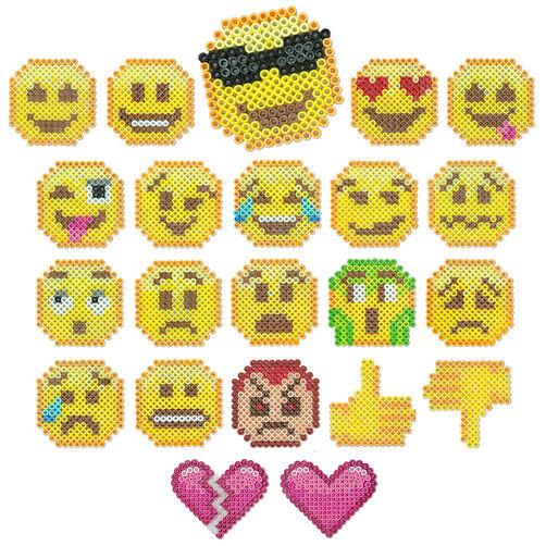 Emojis Perler Beads