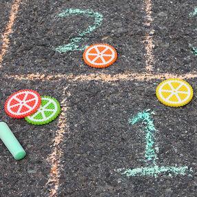 Citrus Hopscotch Markers