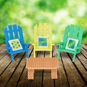 Adirondack Chairs and Table