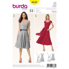 Burda Style Pattern 6638 Misses' Dress