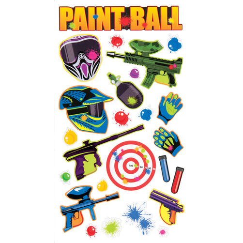Paint Ball Stickers_52-00073