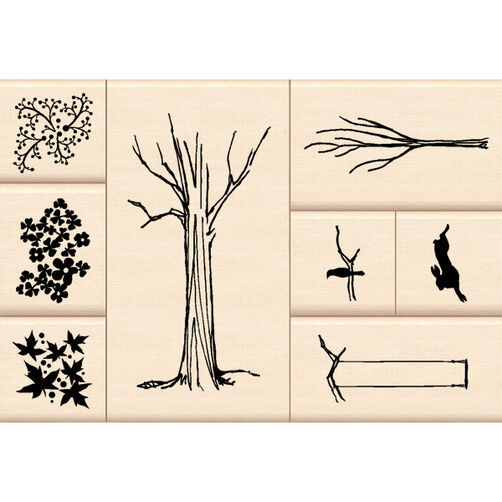 My Tree Layering Wood Stamps_60-10108