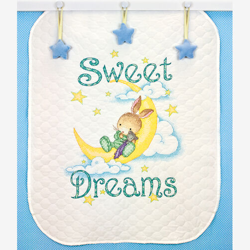 Sweet Dreams Quilt Stamped Cross Stitch_70-73922