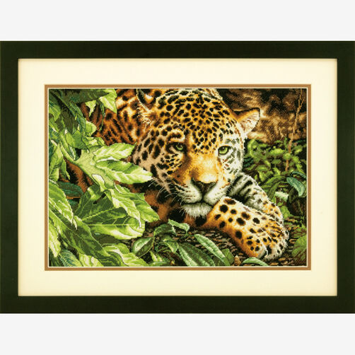 Leopard in Repose Counted Cross Stitch_70-35300