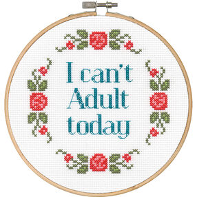 Can't Adult, Counted Cross Stitch_70-74629