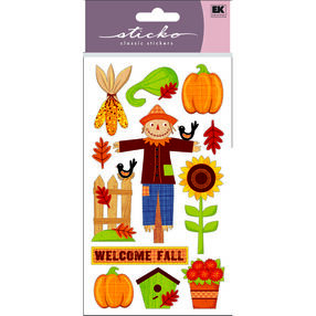 Welcome Fall Stickers_52-00345