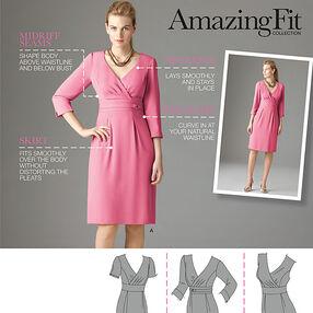 Misses' Amazing Fit Dresses