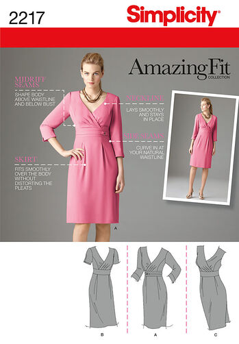 Misses' Amazing Fit Dresses