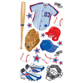 Baseball Gear Stickers_52-00226