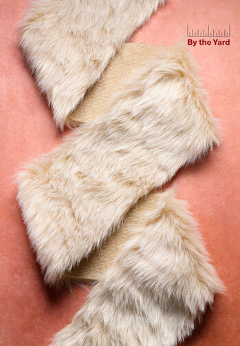 "4"" Camel Faux Fur"