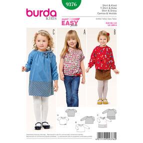 Burda Style Pattern 9376 Shirt and Dress