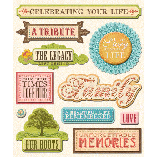 Life Memories Sticker Medley_30-586994