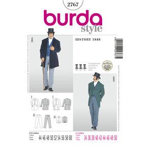 Burda Style Pattern 2767 History 1848