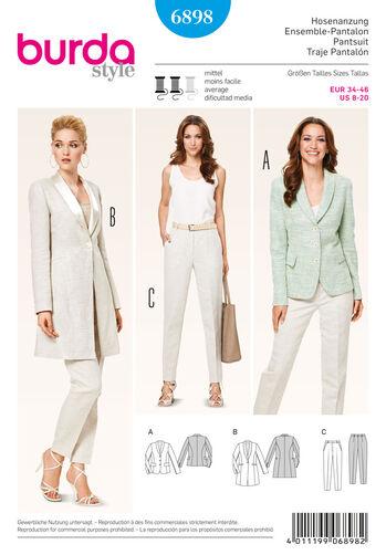 Burda Style Coordinates, Pantsuits, Suits