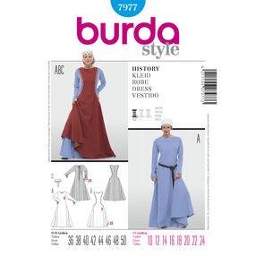 Burda Style Pattern 7977 History Dress