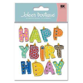Happy Birthday Word Stickers_SPJB332