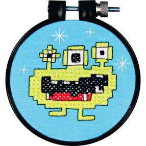 Monster, Stamped Cross Stitch_72-73706