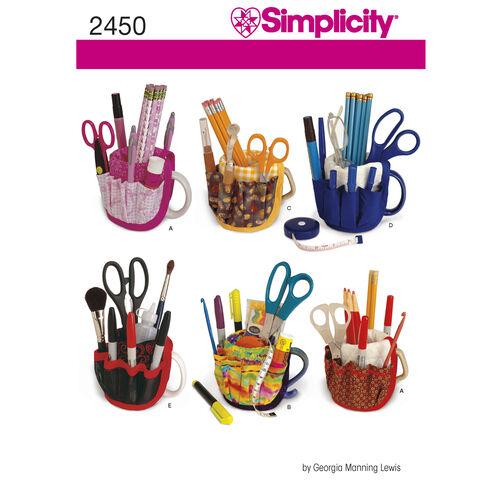 Simplicity Pattern 2450 Mug Buckets