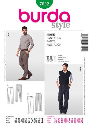 Burda Style Pattern 7022 Pants