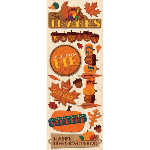 John Yanok Thanksgiving Adhesive Chipboard_566910