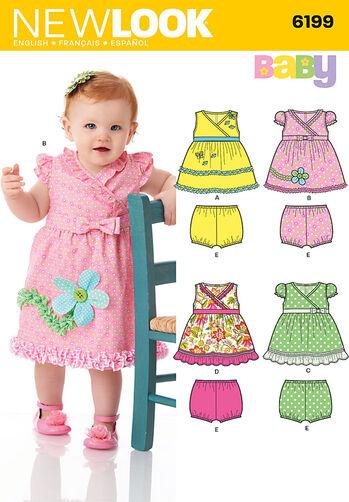 Babies' Dress and Panties