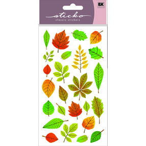 Elegant Fall Leaves Stickers_52-00717