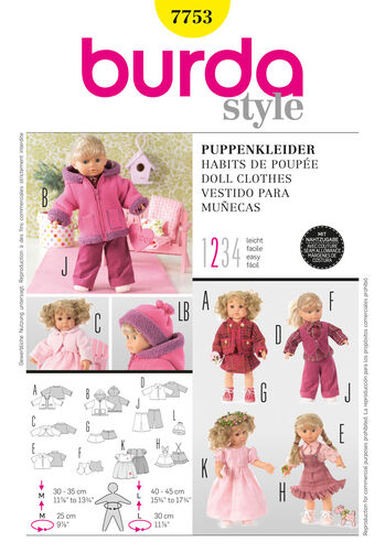 Burda Style, Doll Clothes