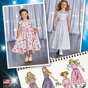 Child's Project Runway Dresses