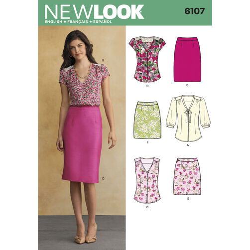 New Look Pattern 6107 Misses' Sportswear