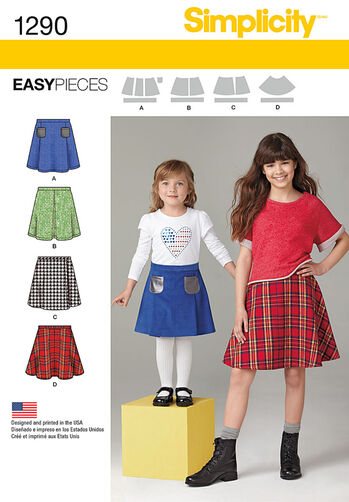 Child's and Girls' Set of Skirts