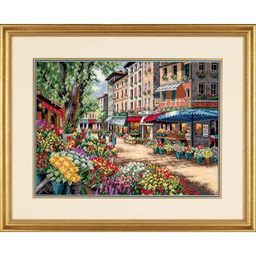 Paris Market, Counted Cross Stitch_35256