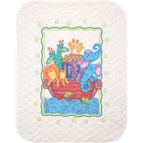 Noah's Ark Quilt, Stamped Cross Stitch_73125