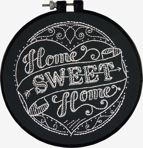 Home Sweet Home in Embroidery_72-74059