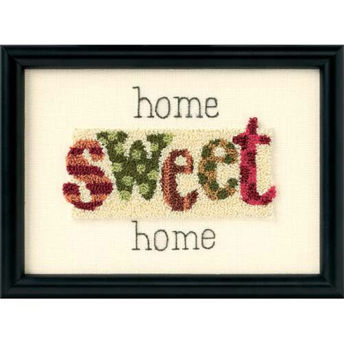 Home Sweet Home, Punch Needle Embroidery_73094