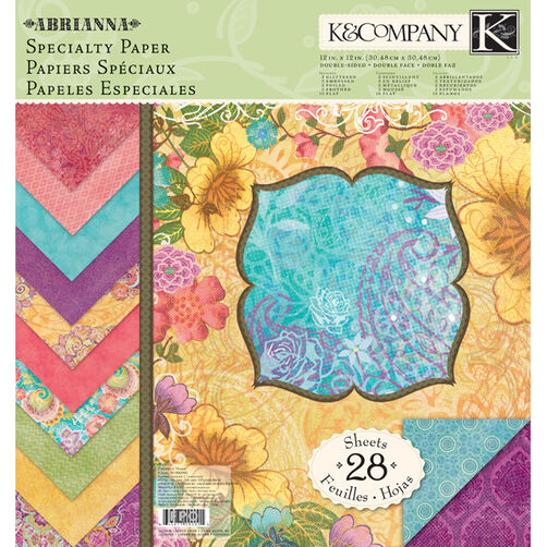 Abrianna 12x12 Specialty Paper Pad_30-618466