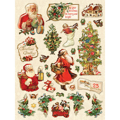 Yuletide Holiday Clearly Yours Stickers_30-579415