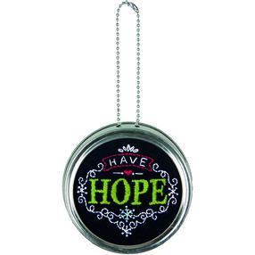 Have Hope Ornament, Embroidery_71-08929