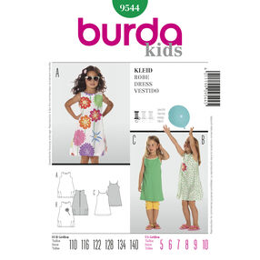 Burda Style Pattern 9544 Dress