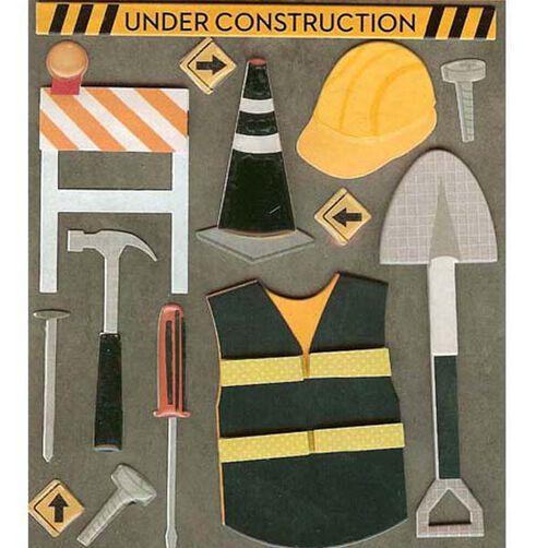 Construction Worker Sticker Medley_30-588363