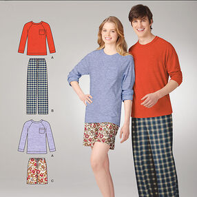 It's So Easy Misses' & Men' Loungewear