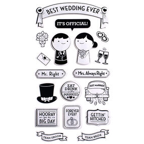 Best Wedding Ever Stickers_52-31028