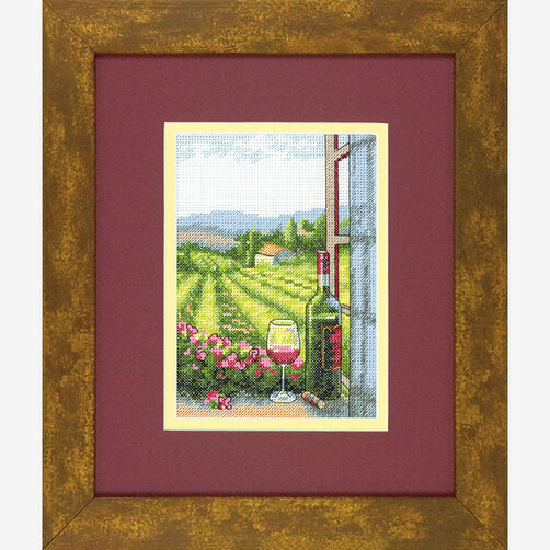 Wine with a View in Counted Cross Stitch_70-65137