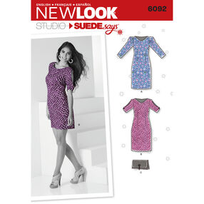 New Look Pattern 6092 Misses' Dresses. New Look Studio by SUEDEsays