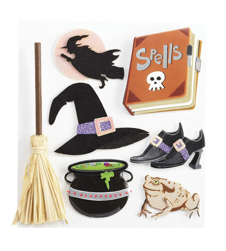 Witch Stickers_50-20955