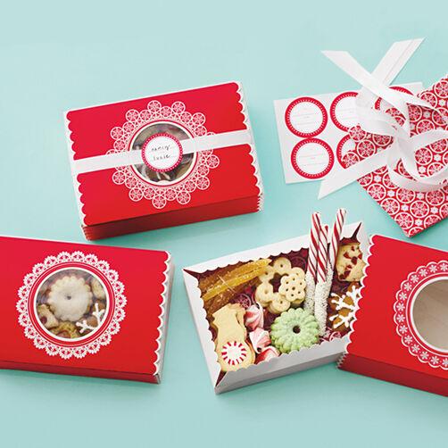 Snow Lace Matchbox Treat Boxes_48-30039