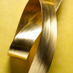 "1-1/2"" Metallic Pleather Belting"