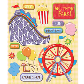 Amusement Park Sticker Medley_30-586505
