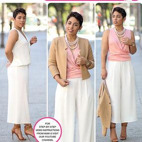 Pattern 8093 Misses' Sportswear from Mimi G Style
